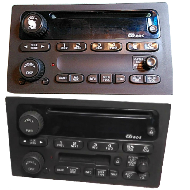 2003 to 2007 Silverado Radio Display Repair Service