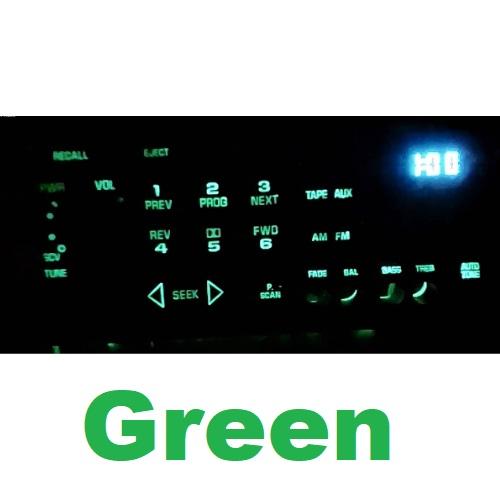 12 Volt Led's 3mm Bulbs For Delco Radios 10 PCS Multi Colors
