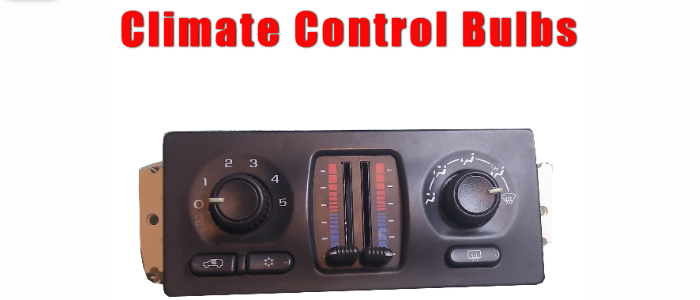 gm climate control bulbs