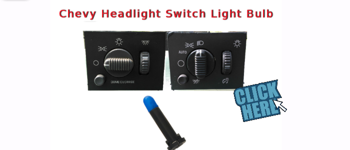 gm headlight switch light bulb