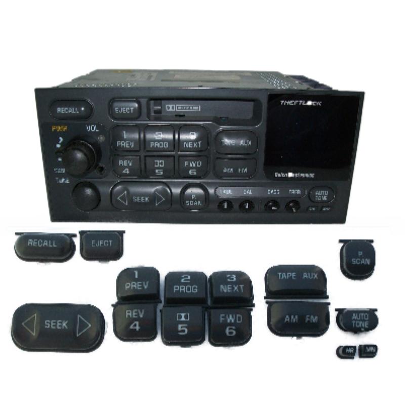 Delco Individual  Button Cassette