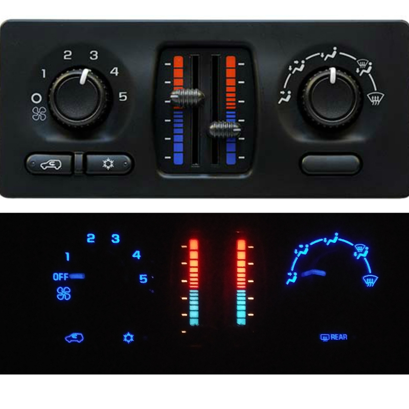 2003 to 2007 Chevy Manual Climate Control LED Upgrade Service