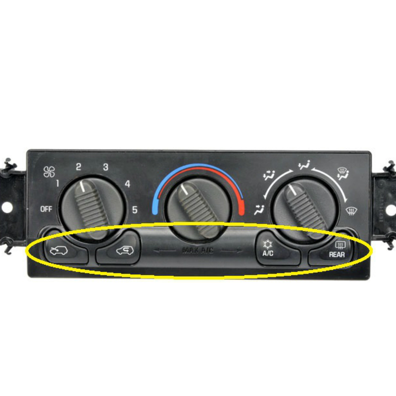 Climate Control Bottom Button LED'S