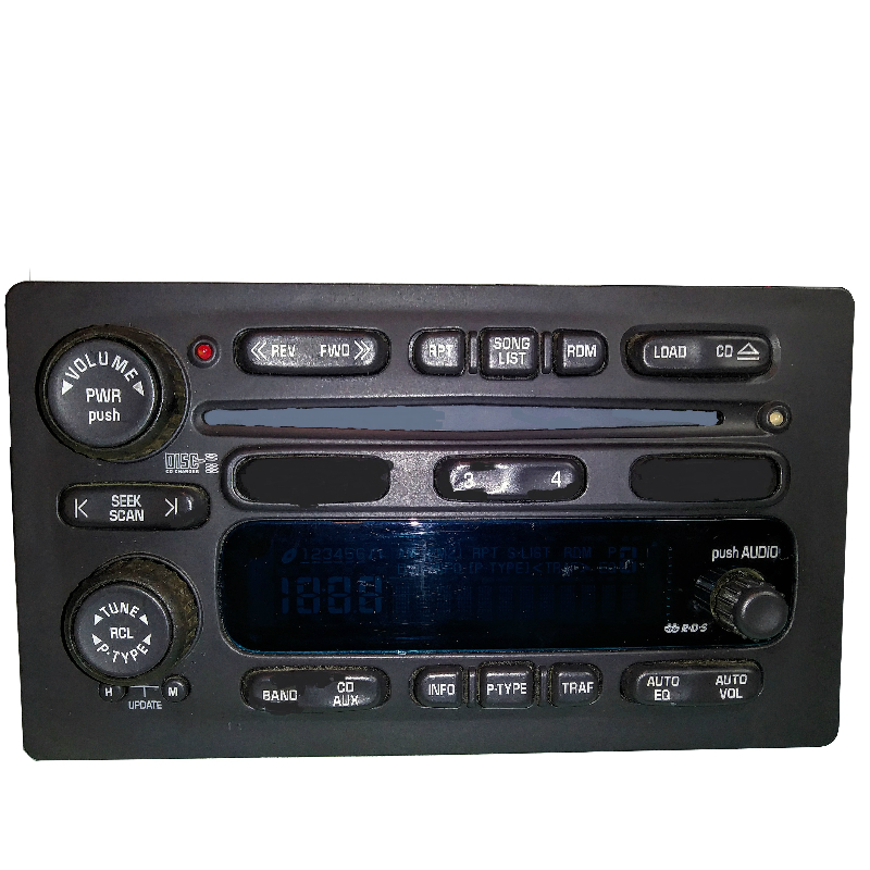 6 Disc Radio Light Board 2002-2012 Silverado, Tahoe and Suburban Plus More