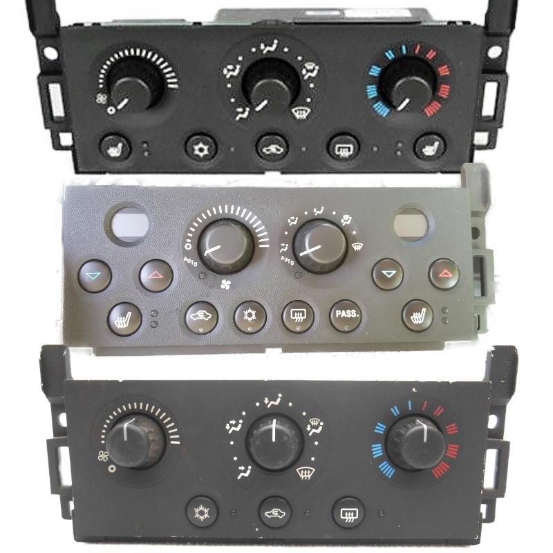2004-2008 Pontiac Grand Prix Climate Control Bulbs