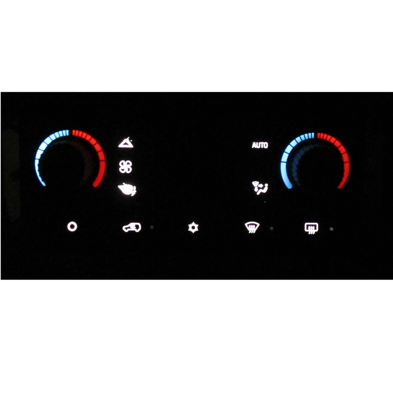 DELCO 03-07 Automatic Truck Heater Control Panel LED Upgrade Service