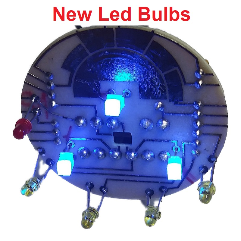 2002-2009 Trailblazer And Envoy 4×4 Switch Led Bulbs