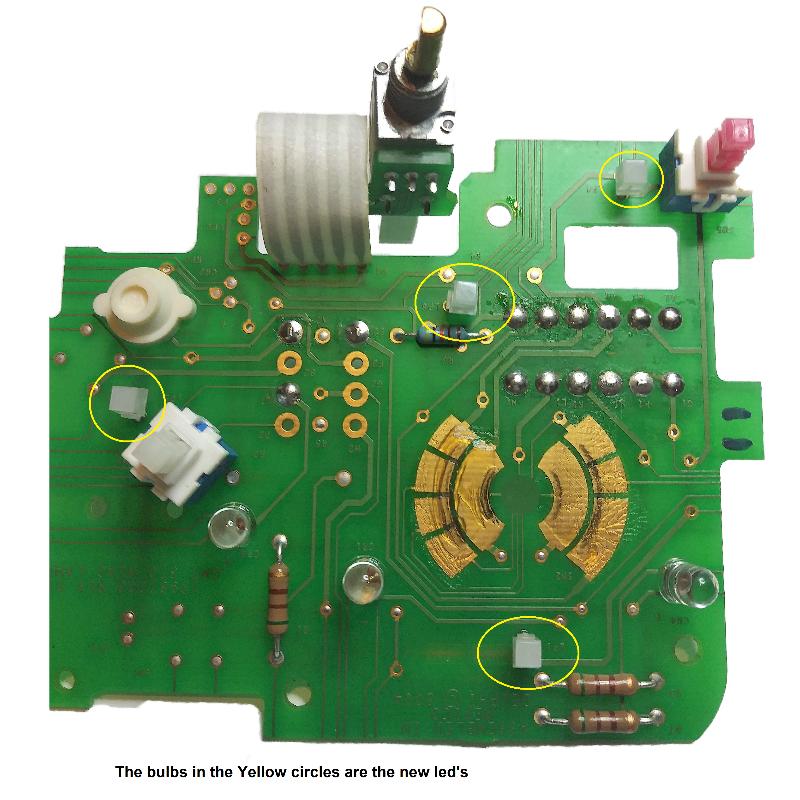 2002-2009 Trailblazer, Envoy And Bravada Headlight Switch LED Bulbs