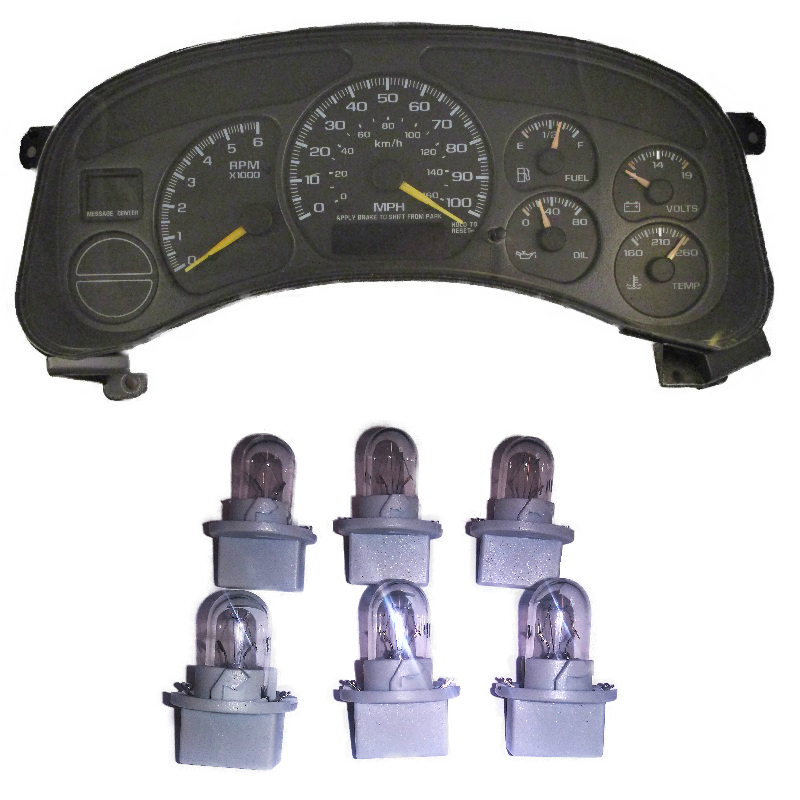 99-02 Silverado And Suv's Instrument Cluster Bulbs