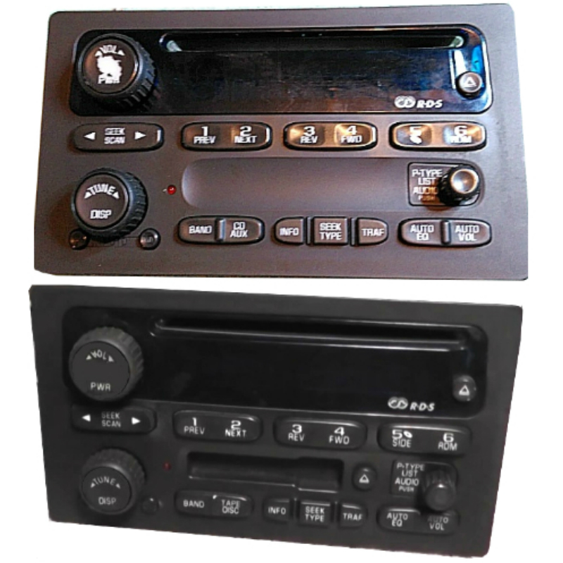 2003 to 2007 Silverado Trailblazer Radio Display Repair Service