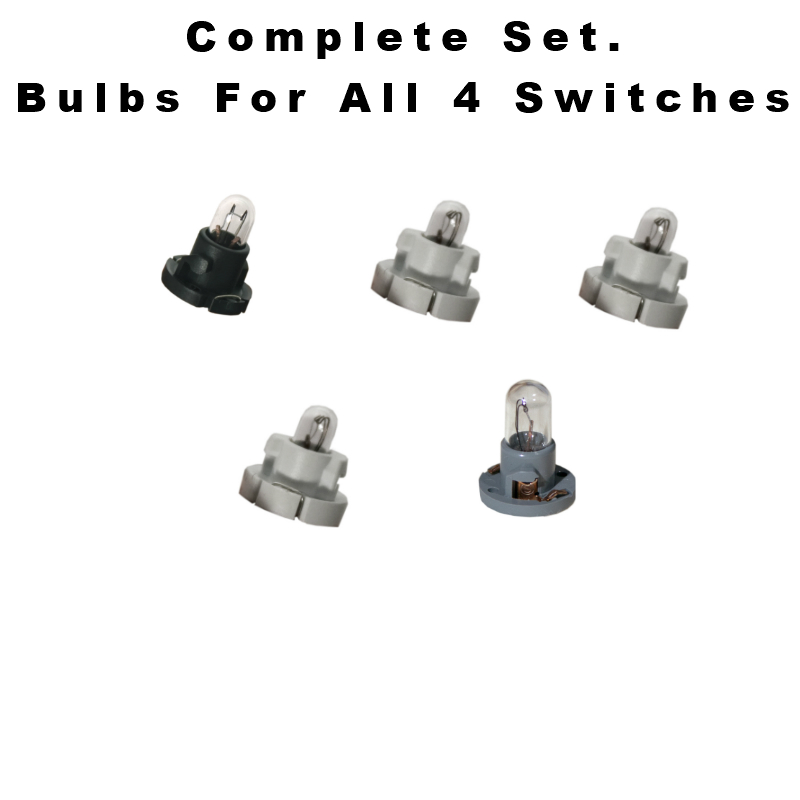 95-99 Chevy Pickups And Suv's Power Window Switch Bulbs