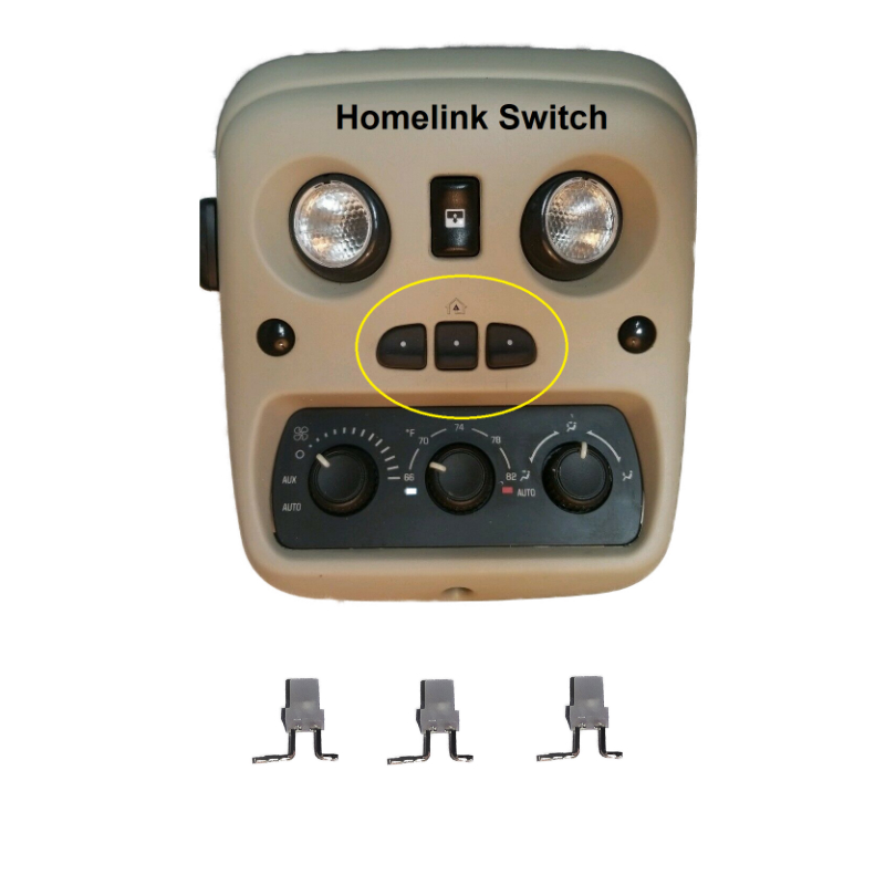 2003-2006 GM Homelink Led Upgrade Kit