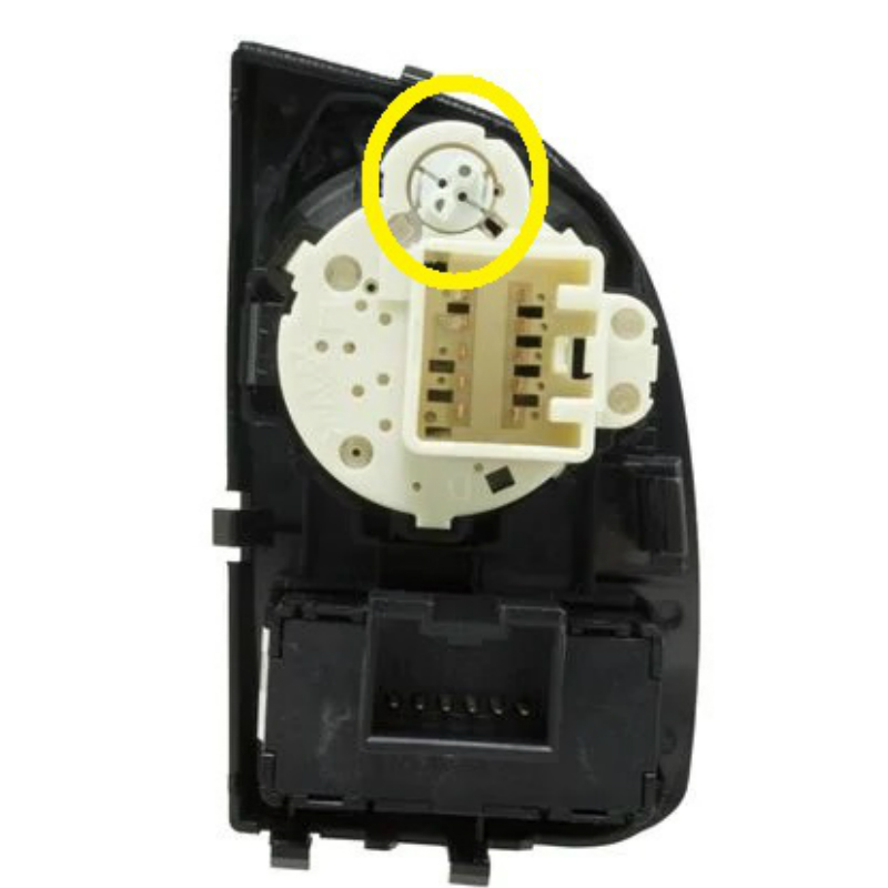 1998-2002 Crown Vic And Grand Marquis Headlight Switch Light Bulb