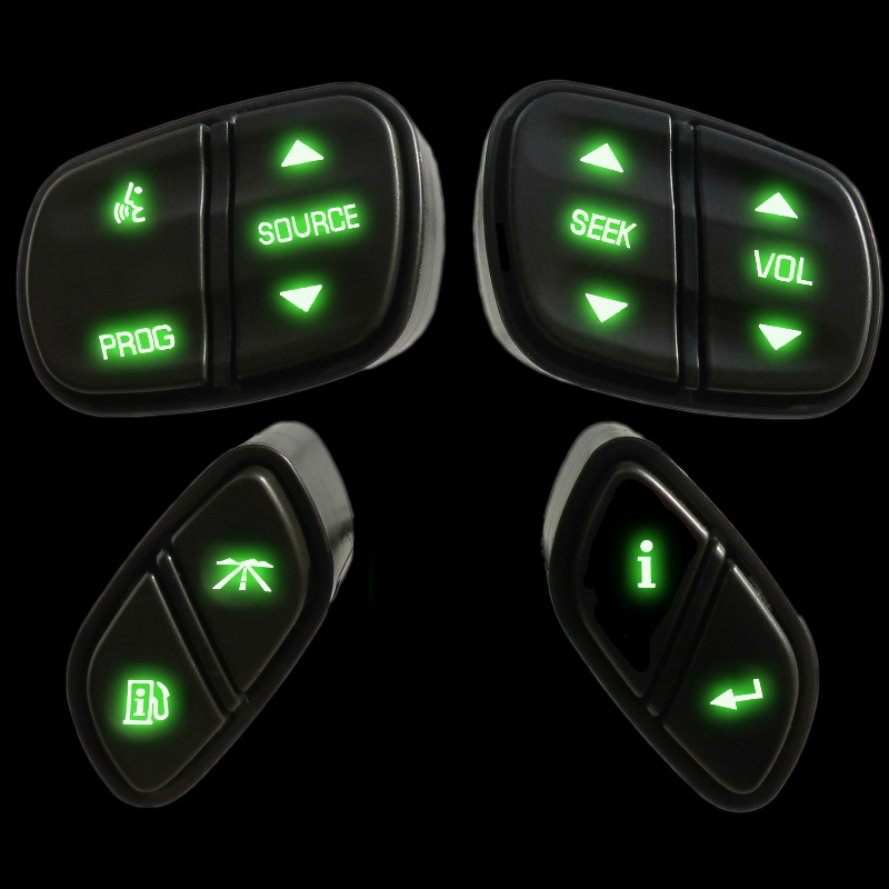 Chevy And GMC Steering Wheel Control LED Upgrade Service