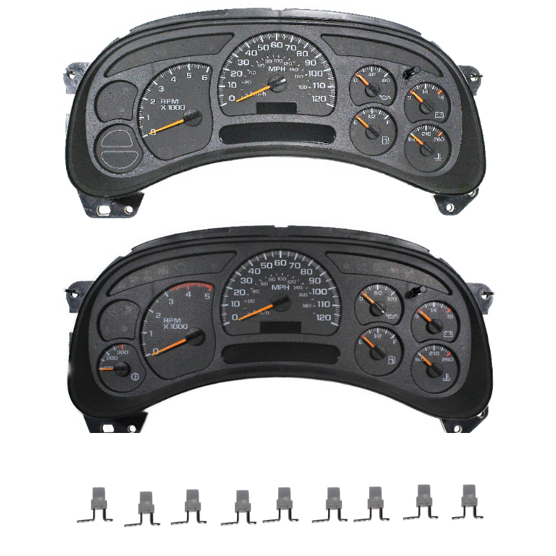 2003 to 2007 Silverado Sierra And Suv's Instrument Cluster LED'S