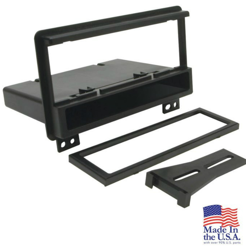 FD1422B 2001-05 Ford / Lincoln / Mercury Select DIN w/Molded Pocket Dash Kit