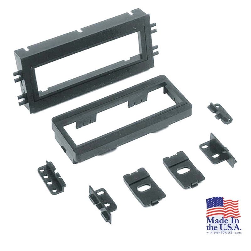 """GM1517B 1990-03 GM DIN Multi-Dash Kit w 5/8"""" snap-in ext. & brackets included"""