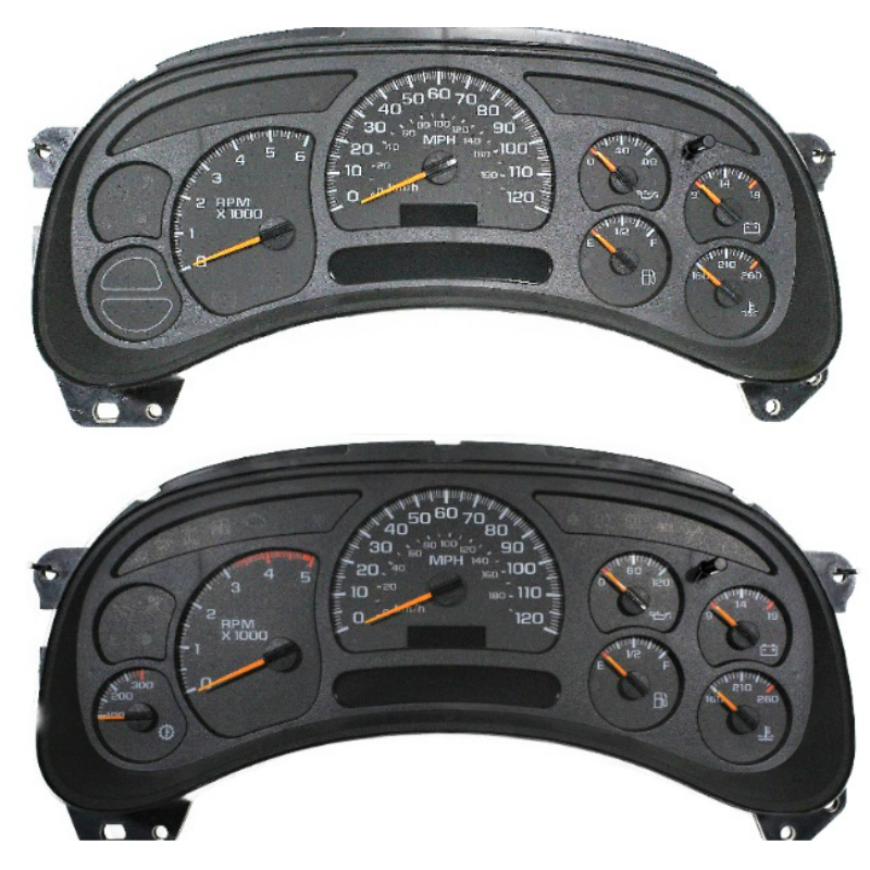 2003 to 2007 Silverado Sierra And Suv's Instrument Cluster LED upgrade service